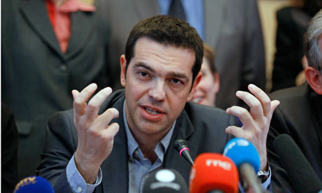 Alexis Tsipras warns Greek crisis is also Europe's  Greece's leftwing leader tells Paris audience that other EU countries will be next if they fail to oppose radical austerity drive