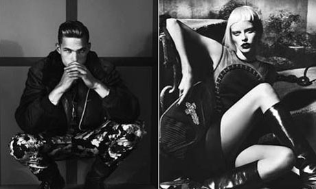 Versace unveil gothic shoot for autumn/winter 2012 collection