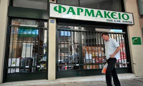 Greece's pharmacies