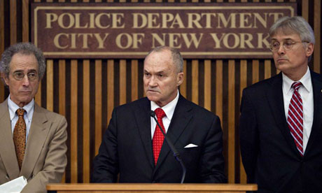 New York Police Commissioner Raymond Kelly