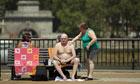 Warm Weather Hits UK