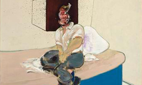 Francis Bacon's Study for Self-Portraitfrom 1964