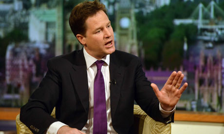 Nick Clegg criticised plans to offer Tories a free vote on gay marriage when ...