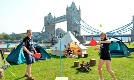 London 2012 camping initiative offers budget sleeping under the stars