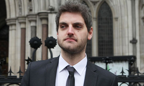 Paul Chambers leaves the High Court in London