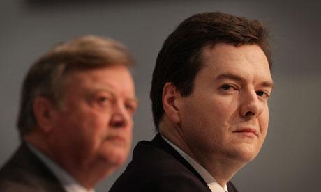 George Osborne Ken Clarke