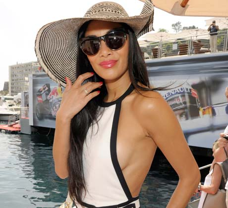 Nicole Scherzinger during the Formula 1 Grand Prix, May 2012