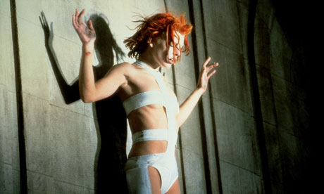 A still from the Fifth Element, 1997