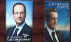 French Presidential elections François Hollande and Nicolas Sarkozy