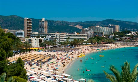 Magaluf Beach 008 - A Brief Account of A Holiday In Magaluf