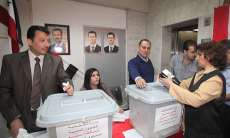 Syrian parliamentary election