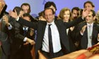 Francois Hollande Celebrates French Presidential Victory