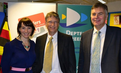 Keey Wilson, Bill Gates and Peter Campling