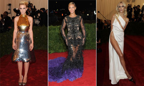 Met Gala 2012: Carey Mulligan, Anja Rubik and Beyonce