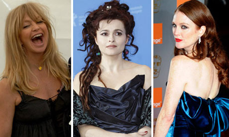 ... long hair can look fab on older women. Photograph: David Levene/Rex/AP