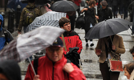 London 2012: Could the Olympics be rained off?