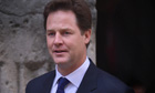 British Deputy Prime Minister Nick Clegg