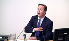David Cameron at Leveson inquirty 