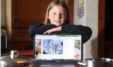 Martha Payne, school dinner blogger