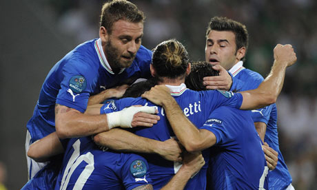 FT Italy 2 – 0 Republic of Ireland