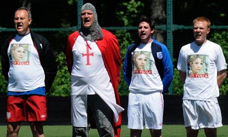 england fans Yulia Tymoshenko