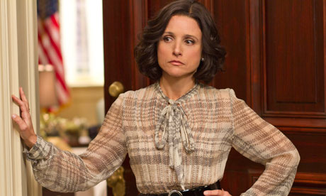 Julia Louis Dreyfus as Se 008 I'm going to go out on a limb and pick a dark horse. Julia Louis Dreyfus.