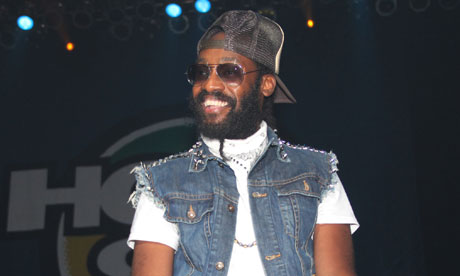 Tarrus Riley … socially conscious.