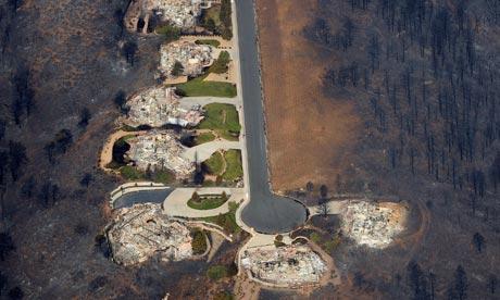 Colorado wildfire homes destroyed