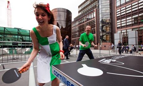 ping pong city of london