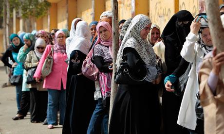 Egyptian women they were doing better under mubarak world news