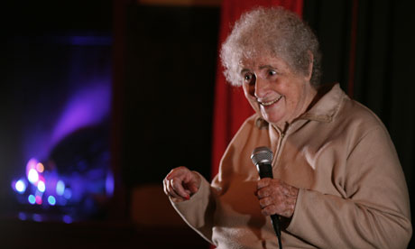 Julie Kertesz, 77-year-old standup, February 2012