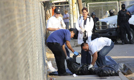 The bodies of seven men were found after an earlier attack in the western city of Culiacan