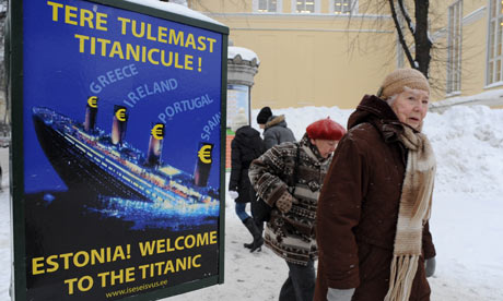 Estonia sign titanic