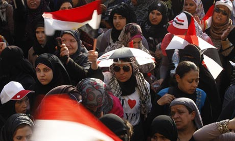Rally in Cairo against presidential frontrunner from Mubarak-era