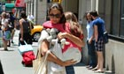 Katie Holmes and Suri Cruise, New York, July 2012