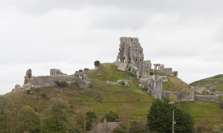 Corfe Castle's residents planned to disrupt the torch relay