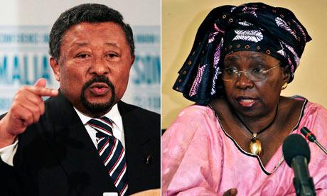 Jean Ping, Nkosazana Dlamini-Zuma