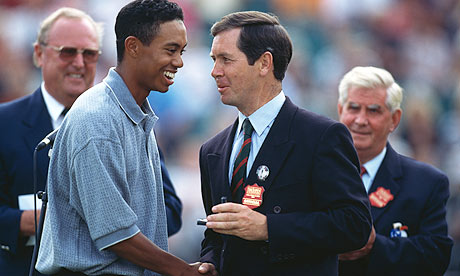 When Tiger Woods arrived in England for the 1996 Open Championship, ...