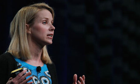 Yahoo! chief executive Marissa Mayer