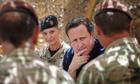 David Cameron Lashkar Gah in Helmand Province, Afghanistan