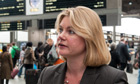 Transport secretary Justine Greening