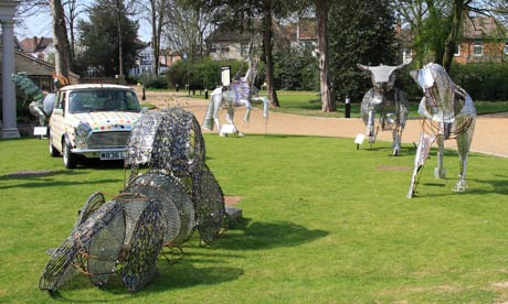 Valentines Park in Ilford has been spruced up but there are few other attractions for visitors