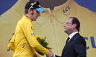 Bradley Wiggins François Hollande