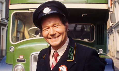Reg Varney as Stan Butler in On the Buses, 1971