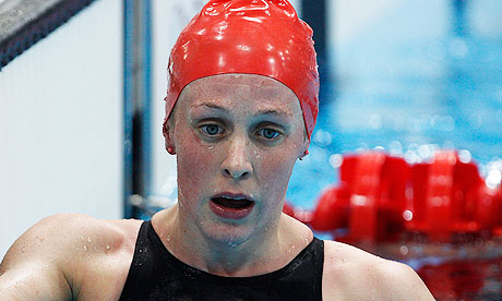 Hannah Miley Team GB swimmer - disappointment