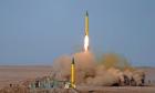 Iran makes missiles  tests in military manoeuvre