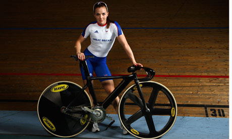 Victoria Pendleton: in the news again