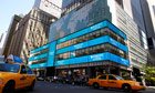 The former Lehman Brothers, now Barclays Capital building in Times Square, New York