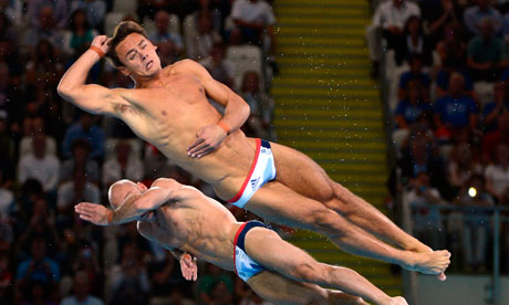 Olympic diving showcases super-tight trunks with revolutionary