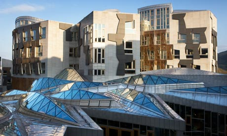 Scottish Parliament building Holyrood, Edinburgh